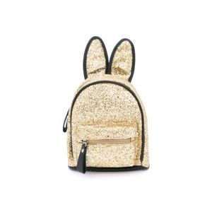 Other - Glitter Mini Bunny Ear Backpack